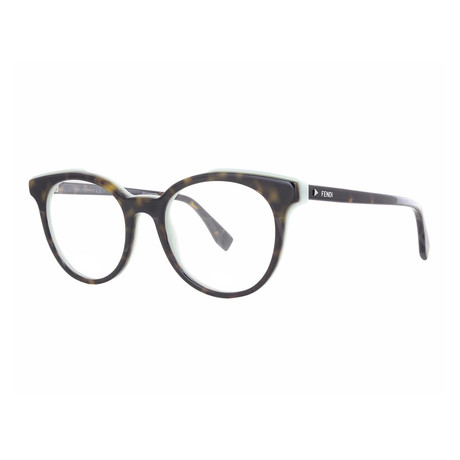Fendi // Women's FF-0249 Optical Frames // Dark Havana