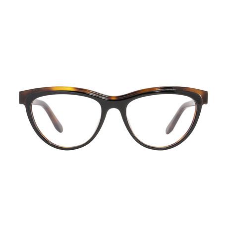 Ferragamo // Women's Acetate Eyeglass Frames // Black-Havana
