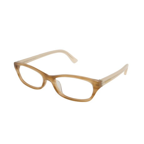 Valentino // Women's Acetate Optical Frames // Striped Honey