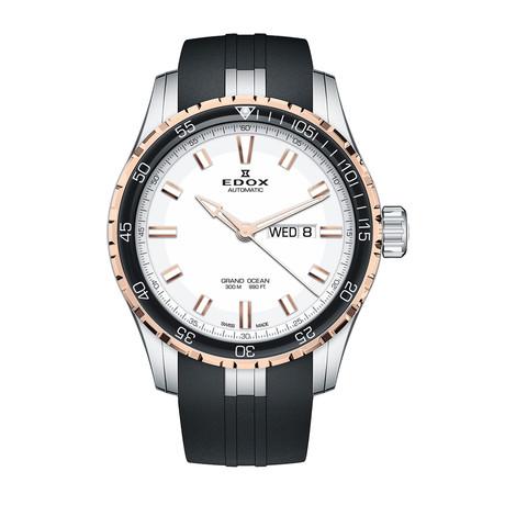 Edox Grand Ocean Day Date Automatic // 88002 357RCA AIR