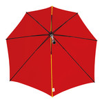 Stormproof Umbrella + Case // 62mph Winds (Red)