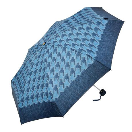 Folding Umbrella // Manual Opening // Dark + Light Jean