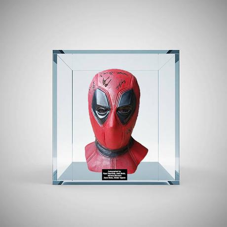 Signed + Framed Mask // Deadpool