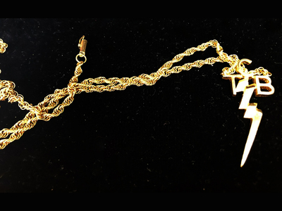 Photo of Piece Of The Past One Of A Kind Collectibles Elvis Presleys last TCB Necklace by Touch Of Modern