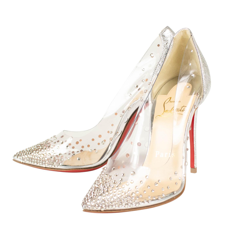 0ff54ebfd560 Women s    Degrastrass Pvc 100 mm Heels    Silver (Euro  34 ...