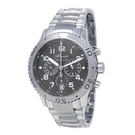 Breguet Type XXI Flyback Chronograph Automatic // 3810ST/92/9ZU // Pre-Owned