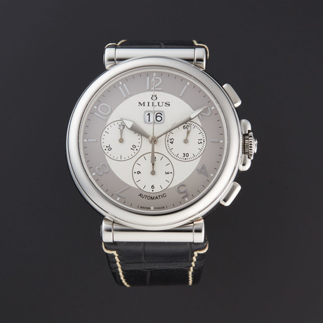 Milus Zetios Chronograph Automatic // ZETC006 // Store Display