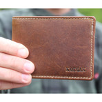 Bi-Fold Wallet // Antique Brown