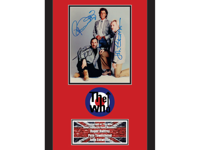 Photo of Piece Of The Past One Of A Kind Collectibles The Who by Touch Of Modern