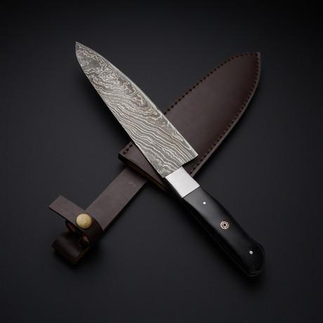 Chef Horn SS Bolster // Black