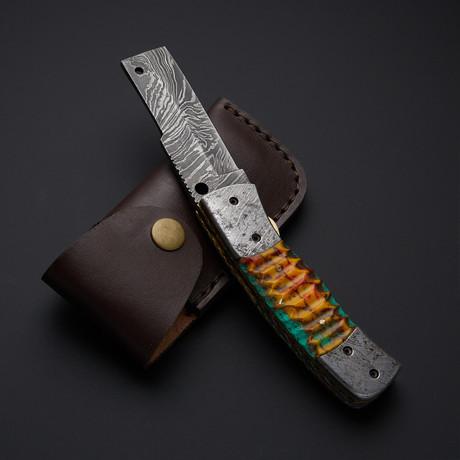 Folding D Knife