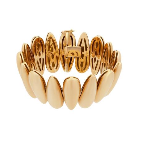 "Bucherer 18k Rose Gold Bracelet // Circumference: 6.25"""