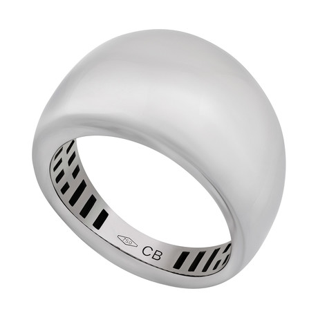 Bucherer 18k White Gold Ring II // Ring Size: 6.5