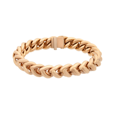 Bucherer 18k Rose Gold Bracelet // Length: 8""