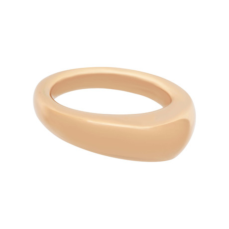 Bucherer 18k Rose Gold Ring // Ring Size: 7