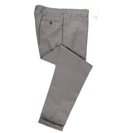Cotton Casual Pants // Wenge Brown (50)