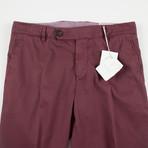 Cotton Casual Pants // Mahogany Red (44)