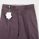 Cotton Casual Pants // Mauve Purple (44)