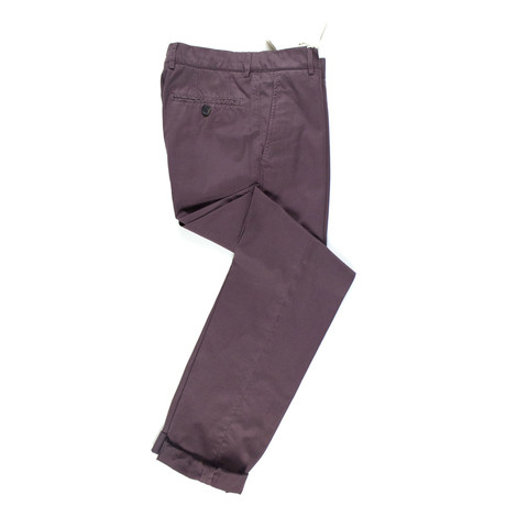 Cotton Casual Pants // Mauve Purple (Euro: 50)