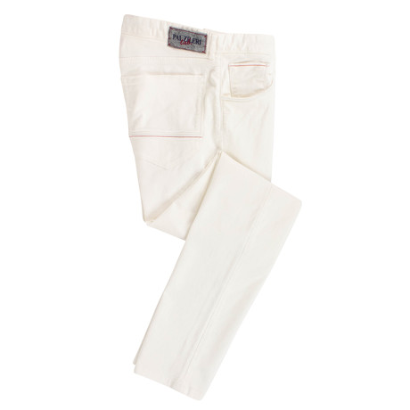 Pal Zileri Lab // Cotton Blend Jeans // White (44)