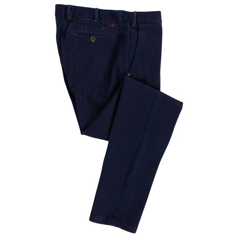 Pal Zileri Lab // Denim Cotton Blend Jeans // Blue (44)
