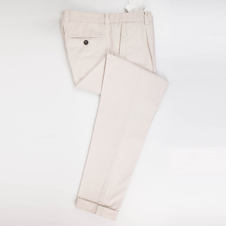 Cotton Casual Pants // Gray (44)