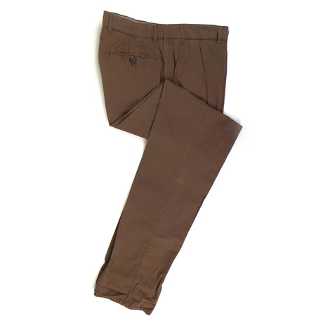 Cotton Casual Pants // Brown (50)