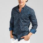 Pete Long Sleeve Shirt // Blue (M)