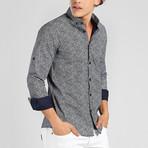 Finn Long Sleeve Shirt // Black (XS)