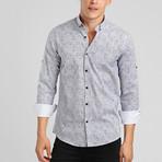 Maldives Button Down Shirt // White (M)