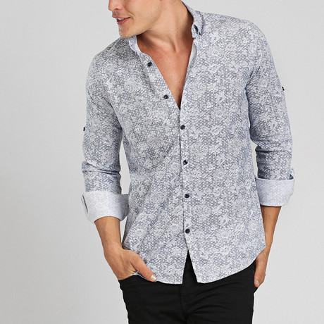 Maui Button Down Shirt // White (M)