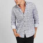 Maui Button Down Shirt // White (M)