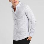Puerto Rico Button Down Shirt // White (M)