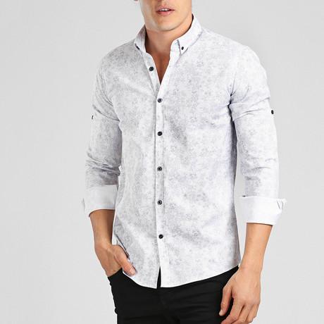Jeff Long Sleeve Shirt // Blue Multi (L)