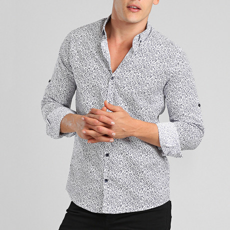 Aruba Button Down Shirt // White (M)