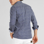 Lance Long Sleeve Shirt // Navy (M)
