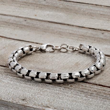 Chain Link Bracelet // Silver
