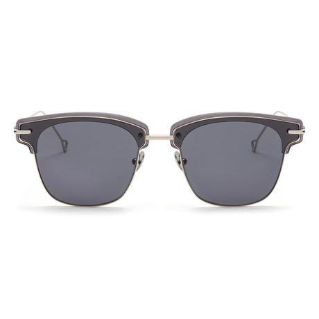 Allev Sunglasses // Smoke + Solid Smoke