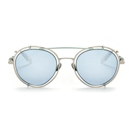 Pyn Sunglasses // Misty Blue + Fresh Blue