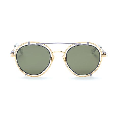 Pyn Sunglasses // Golden + G-15 Mirror