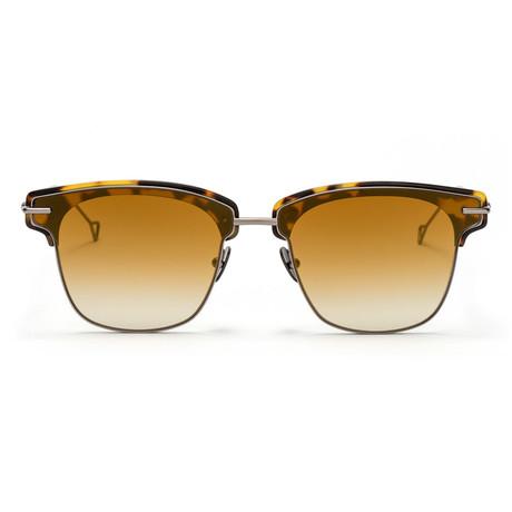Allev Sunglasses // Bronze + Bronze Gradient Mirror