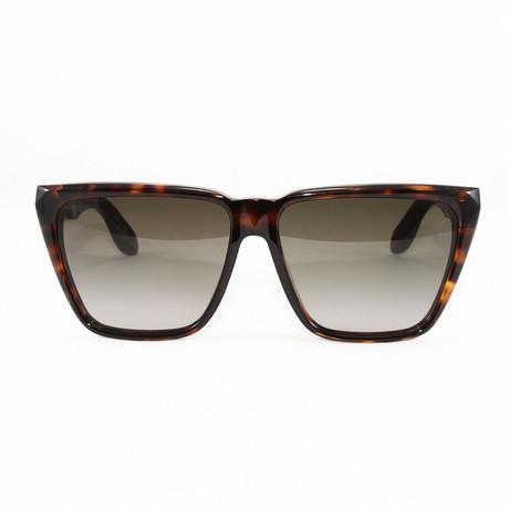 Women's GV7002S Sunglasses // Dark Havana