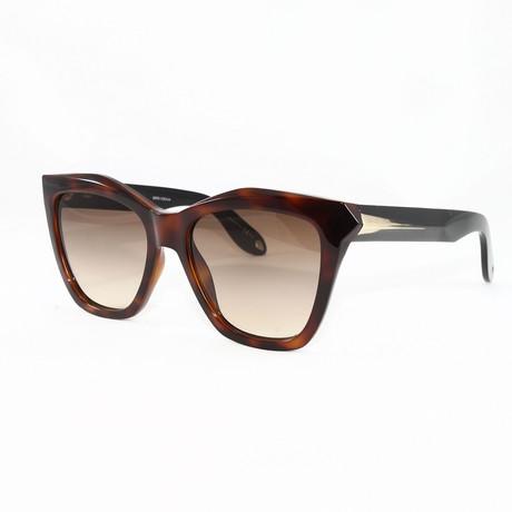 Women's GV7008S Sunglasses // Havana + Black