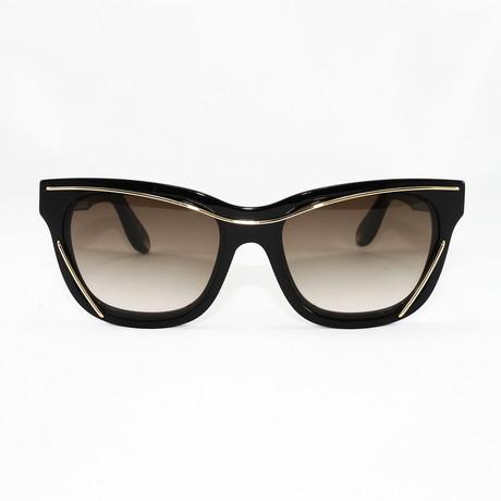 Women's GV7028S-CC Sunglasses // Black
