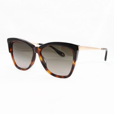 Women's GV7071S Sunglasses // Black Havana