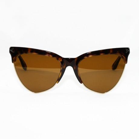 Women's GV7078S Sunglasses // Dark Havana
