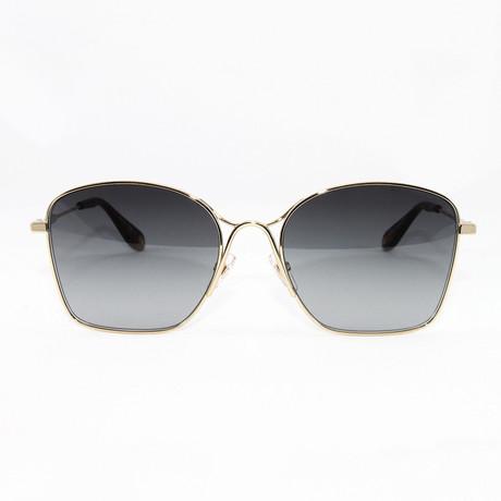 Women's GV7092S Sunglasses // Grey Gold