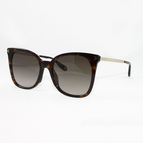 Women's GV7097S Sunglasses // Dark Havana