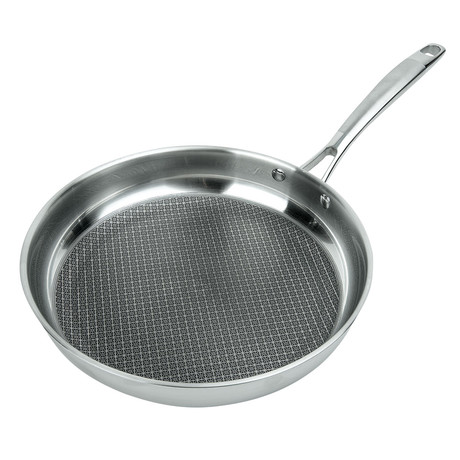 "Stainless Steel Non-Stick Frying Pan (9.5"")"