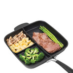 3-Section 3-Ply Skillet